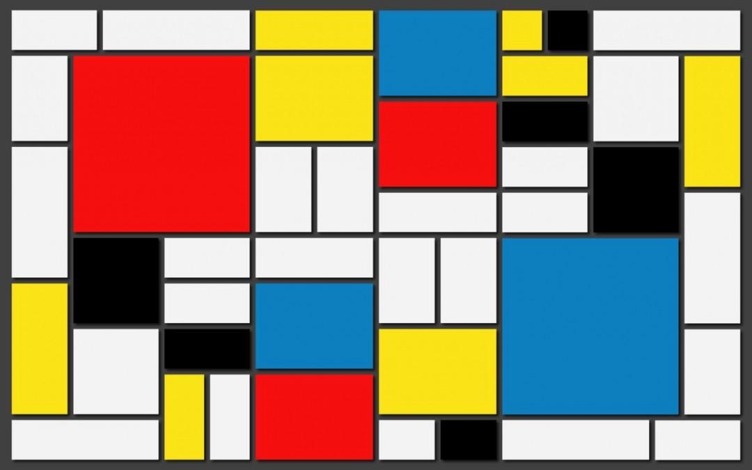 Itinerarios y Mondrian